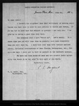 Letter from C[harles] S. Sargent to W. M. Canby, 1902 Jun 20.