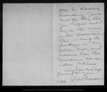 Letter from William Trelease to John Muir, 1902 Jan 5. by William Trelease