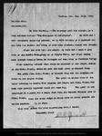 Letter from D. K. Zumwalt to John Muir, 1902 Sep 26. by D K. Zumwalt
