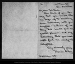 Letter from Marion Delany to John Muir, 1902 Sep 8.