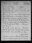Letter from [Dr.] E. S. Goodhue to John Muir, [ca. 1902 ?] .
