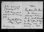 Letter from Mary Sargent to John Muir, [ca. 1902 ?] Dec 25. by Mary Sargent