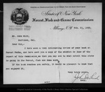 Letter from John D. Whish to John Muir, 1902 Feb 21. by John D. Whish