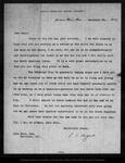 Letter from C[harles] S[prague] Sargent to John Muir, 1902 Dec 26.