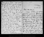 Letter from Geo[rge] Nicholson to John Muir, 1903 Nov 13.