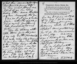 Letter from W. W. Clark to John Muir, 1903 Mar 20.