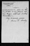 Letter from Anna R. Dickey to John Muir, 1903 Mar 29.