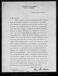 Letter from Benj[amin] I. Wheeler to John Muir, 1903 Mar 21.
