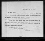 Letter from [Charles] Allen to John Muir, 1903 May 4.