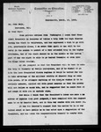 Letter from C[hester] Rowell to John Muir, 1903 Mar 10.