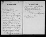 Letter from Mara L. Fergason to John Muir, 1903 Apr 15.