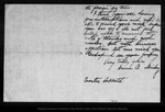 Letter from Anna Dickey to John Muir, [1903 Apr 19] ?.