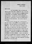 Letter from [Bailey] Millard to John Muir, 1903 Mar 8.