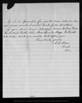 Letter from S. C. Hain to John Muir, 1903 Dec 11.