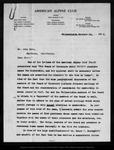 Letter from Henry G. Bryant to John Muir, 1903 Oct 13.