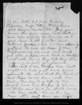 Letter from Helen [Muir] to [Louie Strentzel Muir], [ca. 1903 May].