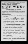 Letter from Cha[rle]s F. Lummis to John Muir, 1903 Apr 10.