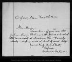 Letter from D. F. Abbott to John Muir, 1903 Dec 1.