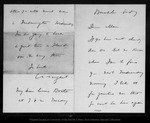 Letter from C[harles] S[prague] Sargent to John Muir, [ca. 1903].