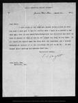Letter from C[harles] S[prague] Sargent to John Muir, 1903 Mar 30.
