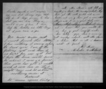 Letter from Celustus Sutherland to John Muir, 1866 Aug 4