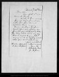 Letter from N. Jerome, Waterbury Clock Co. to John Muir, 1861 Feb 25