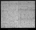 Letter from Lucy Webster, R. Squire, W.F. Webster, and Alice M. Squire  to John Muir, 1864 Jan 25