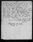 Letter from John H. Riley to John Muir, 1866 Dec 12