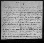 Letter from Sarah M. Galloway to John Muir, 1863 Apr 29