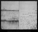 Letter from Flora Griffin to John Muir, 1863 Nov 8
