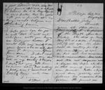 Letter from David Gilrye Muir to John Muir, 1867 May 24 by D[avid] G[ilrye] Muir