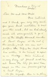 Undated May 14 C H Hittell to JM p1
