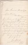 Letter from Mrs Black to John Muir, 1890 Nov 4