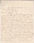 Letter from  P. A. Doran to John Muir, 1903 Apr 21