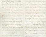 Letter from John Muir to Mary E. Newton ?, [1863 Dec]