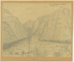 Sierra Nevada - Head of South Fork Kings River, Yosemite Valley, Looking West