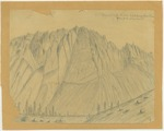 Sierra Nevada - Granite Mountain East Side, South Fork Kings River Canyon, 7,000 Feet High Above Base?