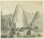 Sierra Nevada - Tulare Dome, Yosemite of the Middle Fork of Kings River, North Side Near the Head