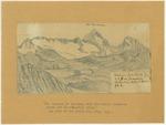 Sierra Nevada - Mount Emerson, Glacier Fountain of South Fork San Joaquin Between 13,000 and 14,000 Feet High