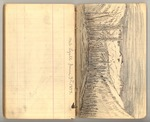 June 1873, Mt. Lyell Studies, Glacier Cañon Erosion Image 34