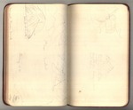 June-July 1890, Sketches of Glaciers Made Around Muir Glacier, Alaska Image 23