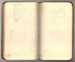 June-July 1890, Sketches of Glaciers Made Around Muir Glacier, Alaska Image 23