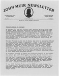 John Muir Newsletter, March/April 1981