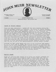 John Muir Newsletter, January/February 1982 by Holt-Atherton Pacific Center for Western Studies