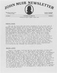 John Muir Newsletter, September/October 1982 by Holt-Atherton Pacific Center for Western Studies