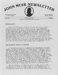 John Muir Newsletter, March/April 1983 by Holt-Atherton Pacific Center for Western Studies