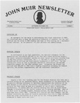 John Muir Newsletter, September/December 1983 by Holt-Atherton Pacific Center for Western Studies