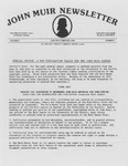 John Muir Newsletter, January/February 1984 by Holt-Atherton Pacific Center for Western Studies