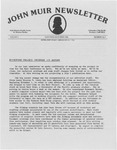 John Muir Newsletter, November/December 1984 by Holt-Atherton Pacific Center for Western Studies