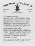 John Muir Newsletter, April/June 1985 by Holt-Atherton Pacific Center for Western Studies